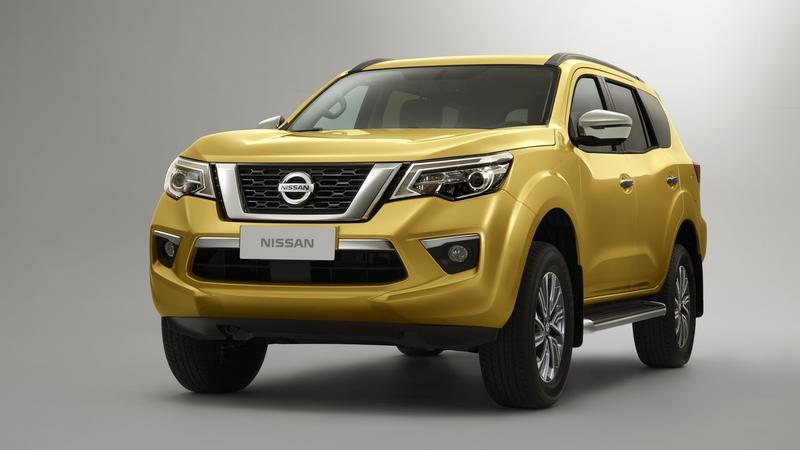 Nissan Officially Teases Terra SUV Ahead of Beijing Debut