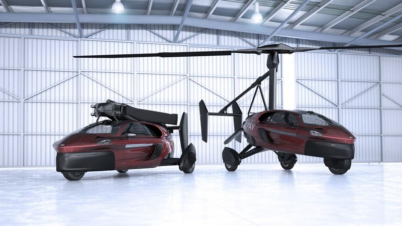 PAL-V Liberty, The World's First Road- And Air-Legal Car, Is Headed To The Geneva Motor Show Exterior - image 765693