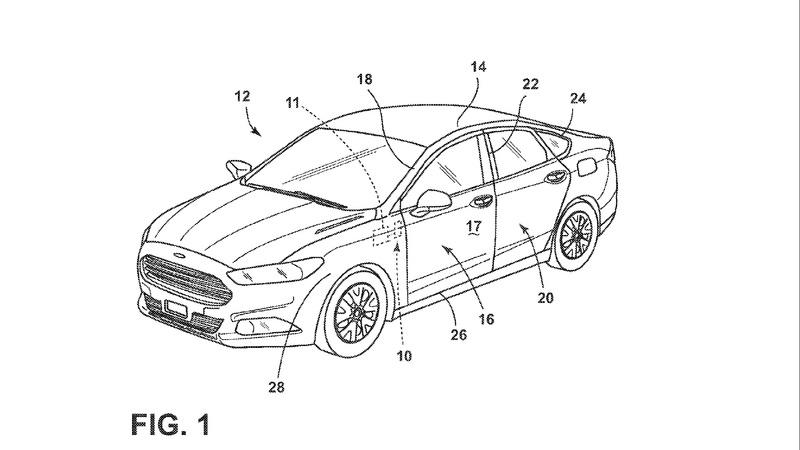Patent Watch: Ford Aims to Complicate Cars Further with Voice Activated Door Openers - image 769456