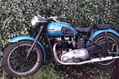 Police nab brazen Bristol brats responsible for torching the vintage Triumph