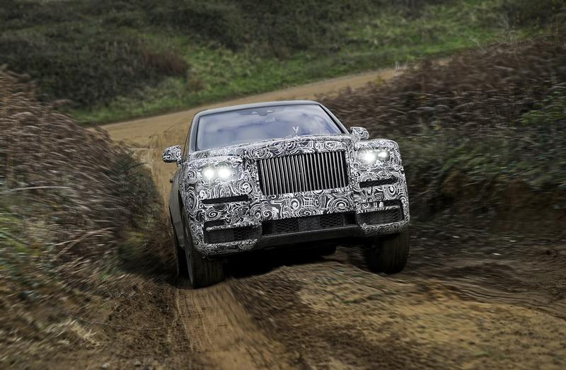Rolls-Royce Confirms Cullinan Name for its Upcoming SUV