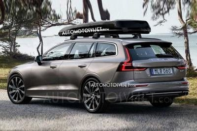 Shots of the Volvo V60 Have Leaked Ahead of Geneva Debut - image 768822
