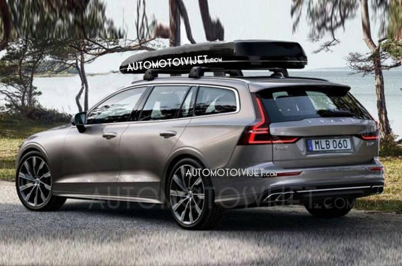 Shots of the Volvo V60 Have Leaked Ahead of Geneva Debut