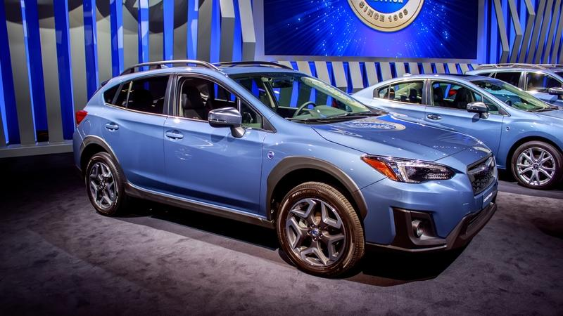 2018 Subaru Crosstrek 50th Anniversary Edition
