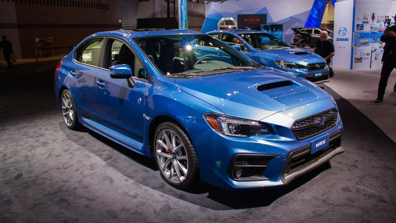 2018 Subaru WRX 50th Anniversary Edition