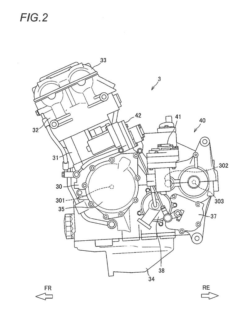 Suzuki motorcycles in future might have semi-automatic transmission Drawings - image 769507