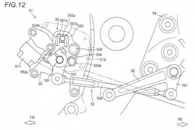 Suzuki motorcycles in future might have semi-automatic transmission Drawings - image 769509