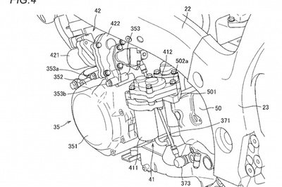 Suzuki motorcycles in future might have semi-automatic transmission Drawings - image 769510