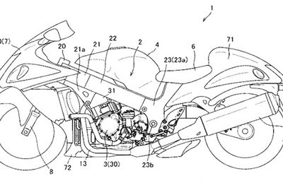 Suzuki motorcycles in future might have semi-automatic transmission Drawings - image 769511