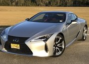 The 2018 Lexus LC500 is the Perfect Ride for a Valentine's Day Date - image 767780