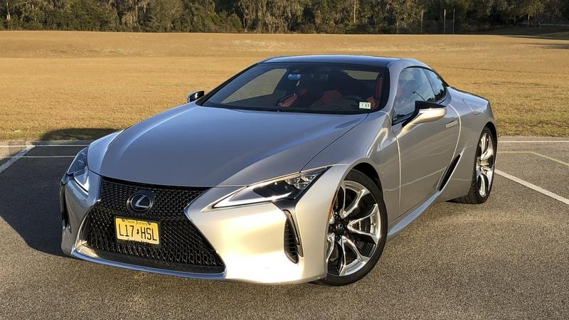 The 2018 Lexus LC500 is the Perfect Ride for a Valentine's Day Date