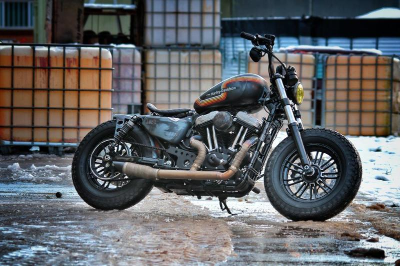"The ""Alley Rat"" becomes the finalist of the Harley-Davidson Battle of the Kings"