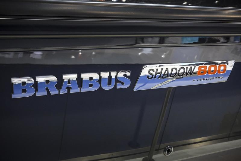 The Brabus Shadow 800 is the Sports Sedan of the Open Sea