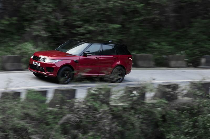 The Range Rover Sport Seriously Climbed Heaven's Gate