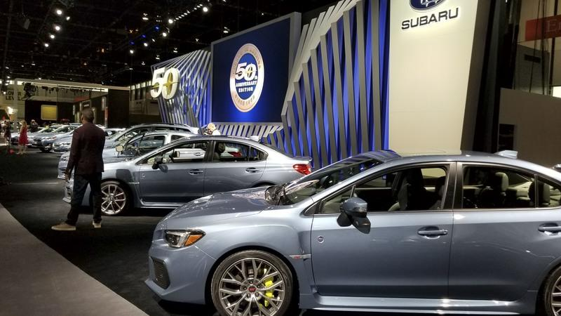 The Subaru STI 50th Anniversary Edition Is the Rarest WRX You Can Buy Today