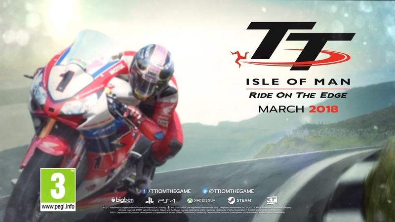 The 'TT Isle of Man: Ride on the Edge' is available for pre-order
