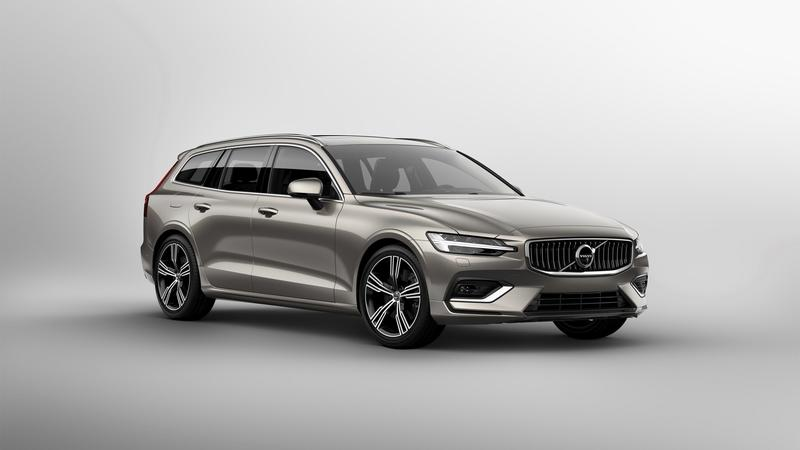 The Volvo V60 Comes Correct With Sexy Looks, High-End Tech, and a 390HP Hybrid Powertrain