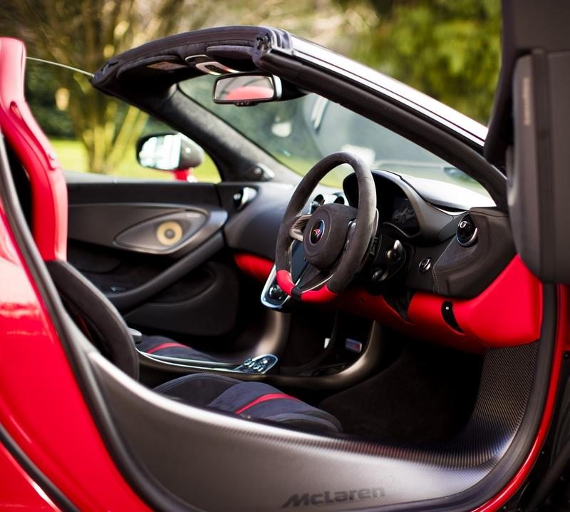 There's a Special McLaren 570S Just for Valentines Day! Interior - image 767937