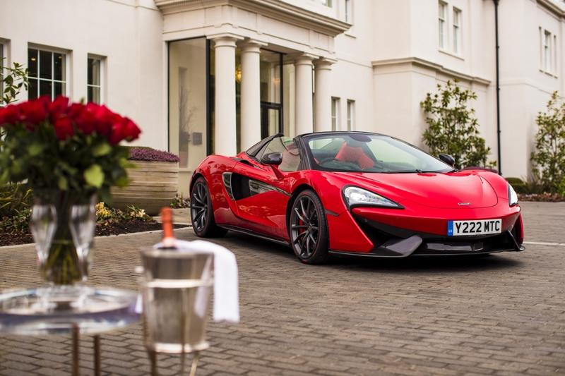 There's a Special McLaren 570S Just for Valentines Day!