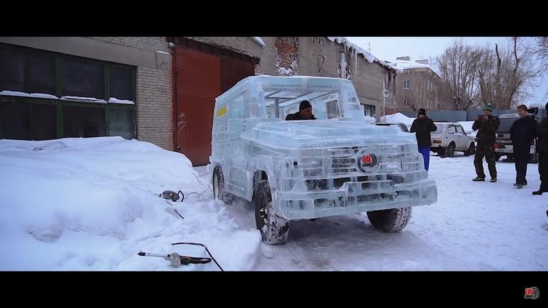 Think Your Ride Is Pretty Cool? Check Out This Ice-Cold Mercedes G-Wagen