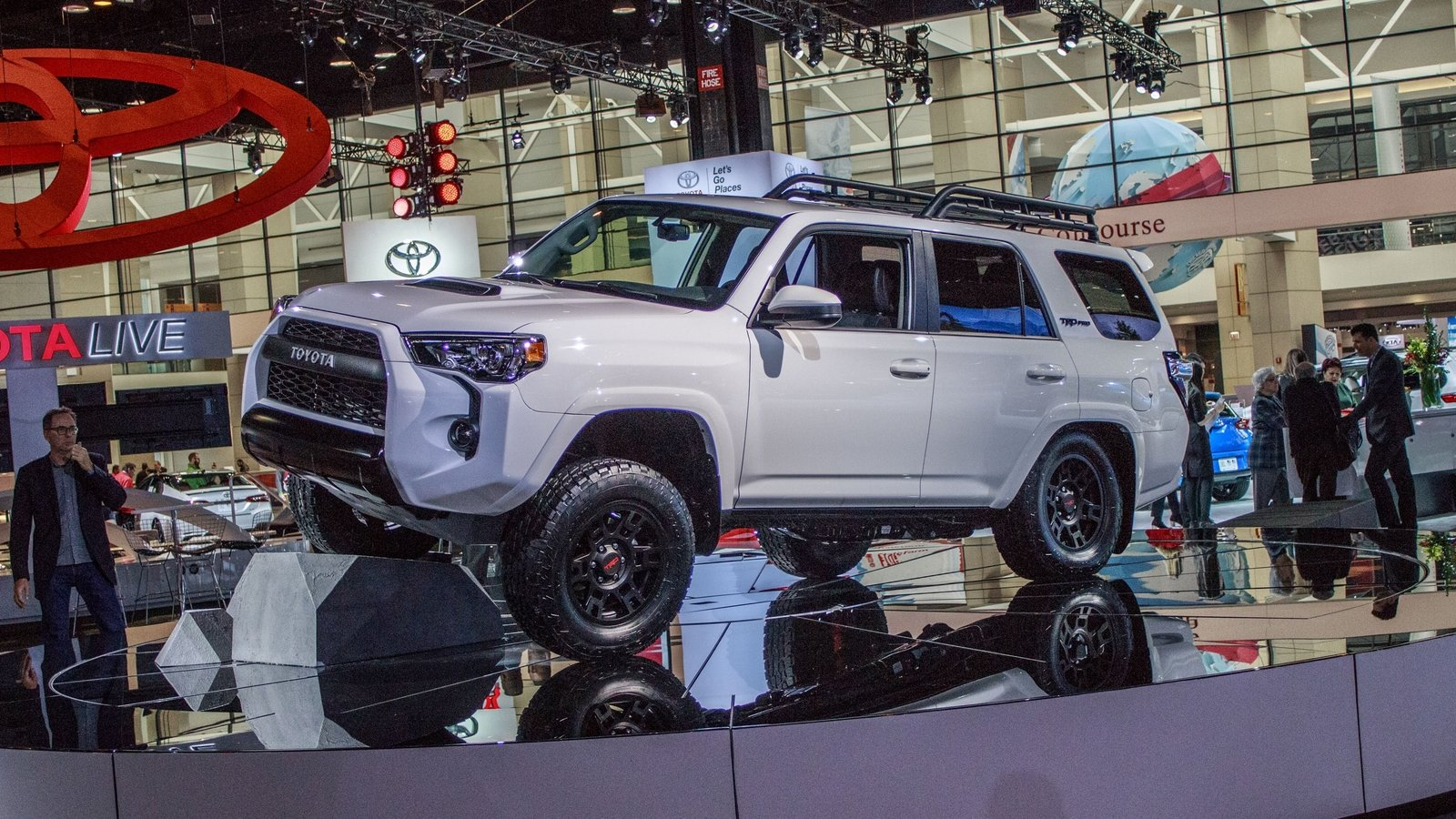 15 Inch Tires >> 2019 Toyota 4Runner TRD Pro | Top Speed