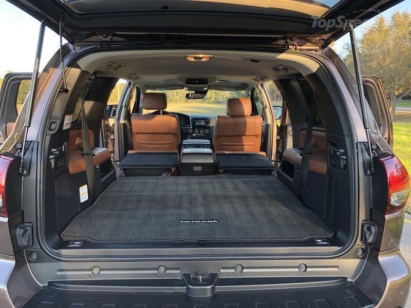 Inside the 2018 Toyota Sequoia Platinum