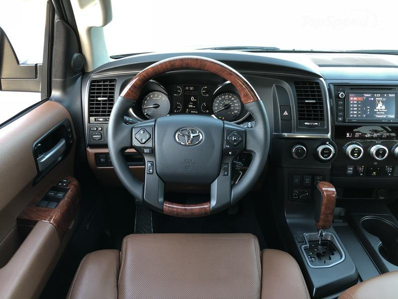 What's New on the 2018 Toyota Sequoia Interior - image 764324