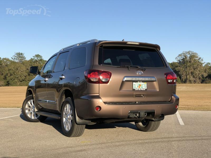 What's New on the 2018 Toyota Sequoia Exterior - image 764291