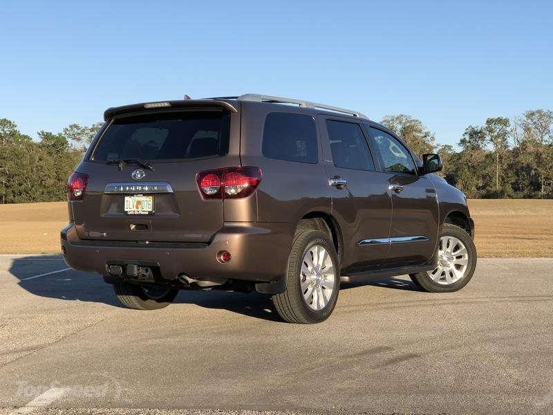 What's New on the 2018 Toyota Sequoia