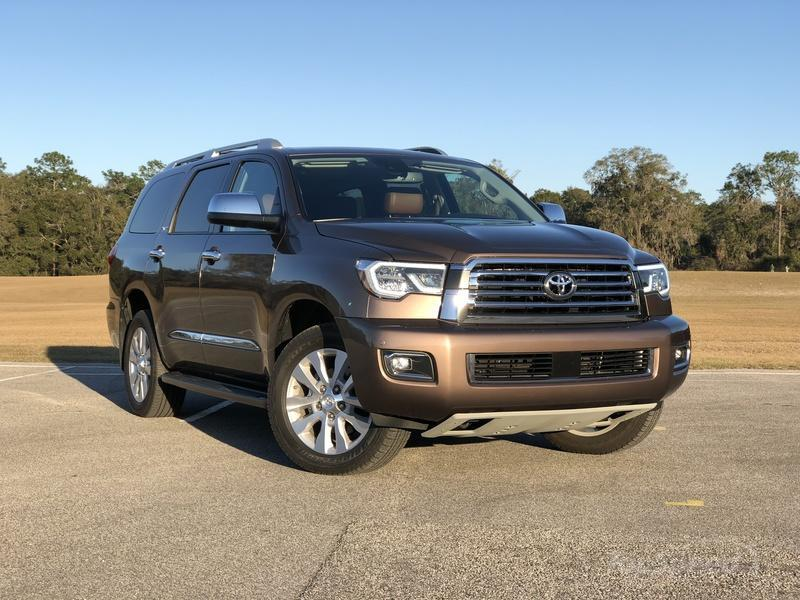 What's New on the 2018 Toyota Sequoia Exterior - image 764295