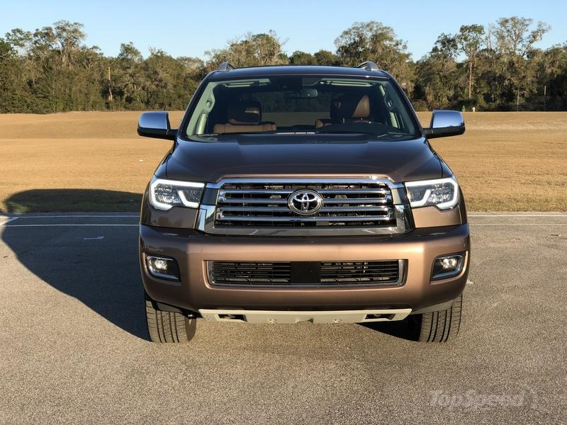 What's New on the 2018 Toyota Sequoia Exterior - image 764296