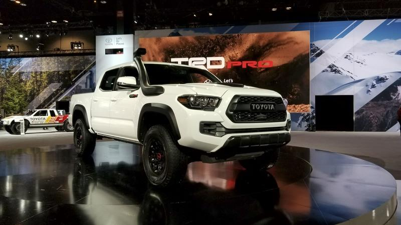 Toyota Ups the Ante With 2019 Tacoma TRD Pro - image 766128