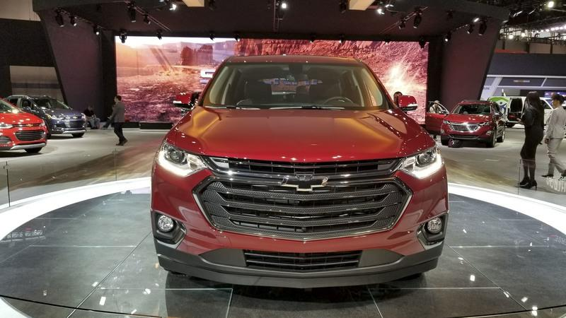 Chevy Traverse RS Looks Like The Better Daily Driver In Chicago