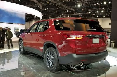 Chevy Traverse RS Looks Like The Better Daily Driver In Chicago - image 766306