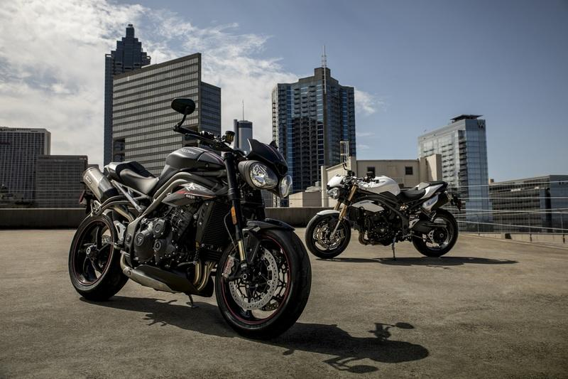 Triumph unboxed their brand new Speed Triple S and RS