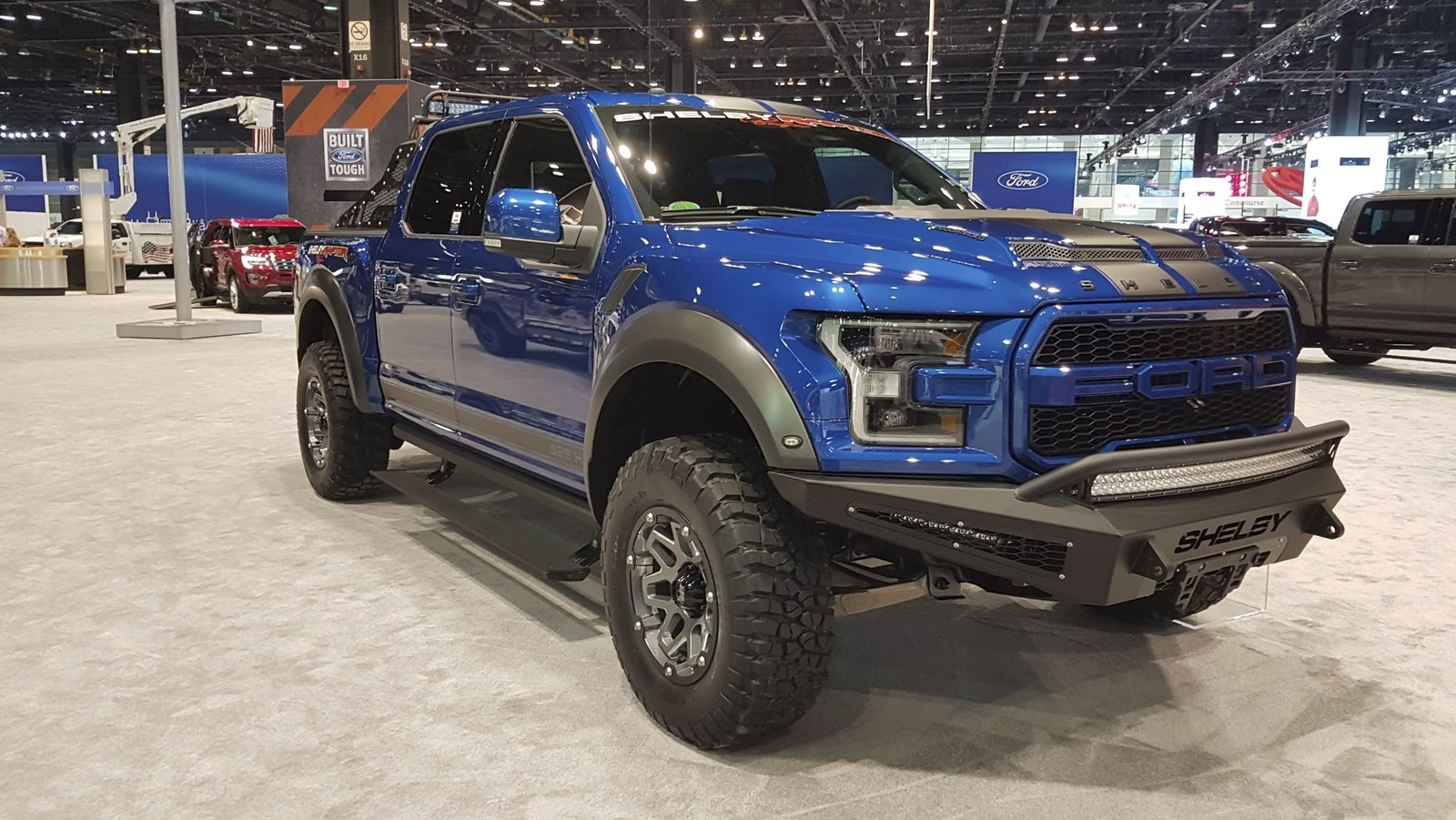 Lifted Ford Trucks >> Tuscany Brings Two Modified Ford F-150s To 2018 Chicago ...
