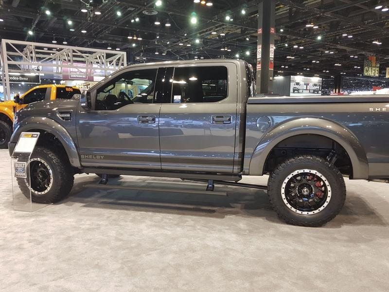 Tuscany Brings Two Modified Ford F-150s to 2018 Chicago Auto Show