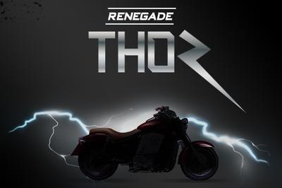 UM motorcycles showcased the Renegade Thor electric cruiser Exterior - image 767153