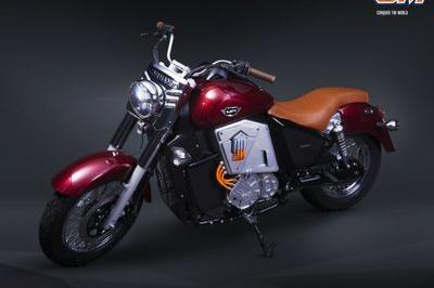 UM motorcycles showcased the Renegade Thor electric cruiser Exterior - image 767154