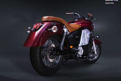 UM motorcycles showcased the Renegade Thor electric cruiser Exterior - image 767141