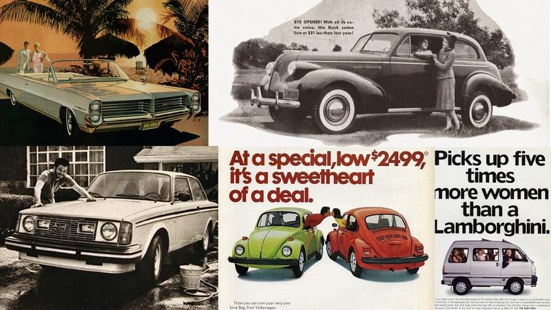 Valentine's Day Special: 5 Romantic Vintage Car Ads