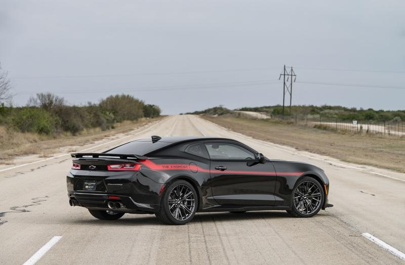 Video of the Day: Hennessey's 2017 Camaro ZL1 Exorcist Tops Out at 217 MPH