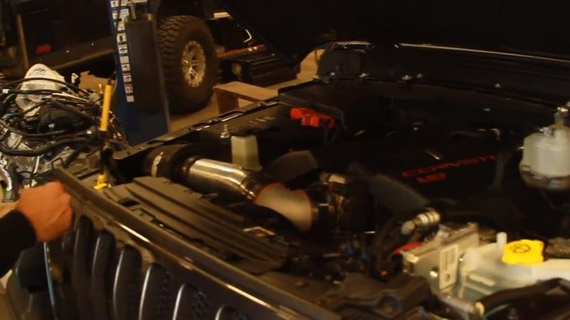 Video of the Day: You Can Already do an LS-Swap to your 2018 Jeep Wrangler JL!!! - image 768551