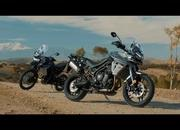 Video: Triumph showing off skills of the Tiger 800 - image 770127