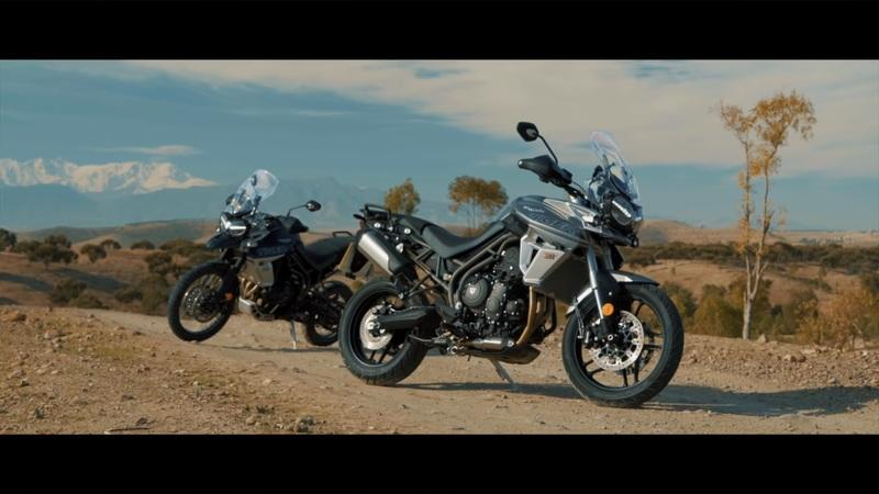 Video: Triumph showing off skills of the Tiger 800