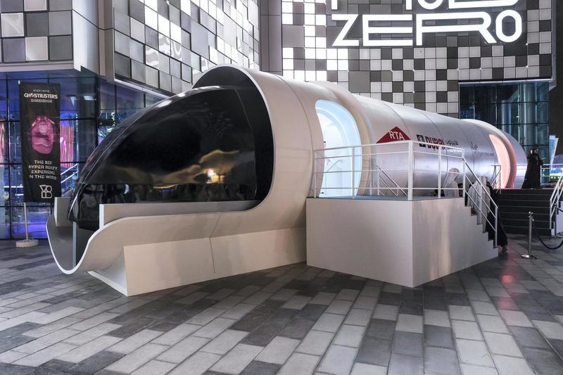 Virgin Hyperloop One's Full-Scale Pod is Designed by BMW