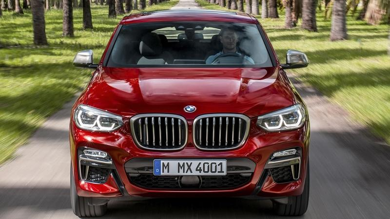 Visual Comparison: 2018 BMW X4 vs 2018 Mercedes GLC Coupe