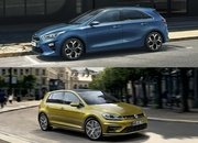 Visual Comparison: 2019 Kia Ceed vs 2018 Volkswagen Golf - image 769812