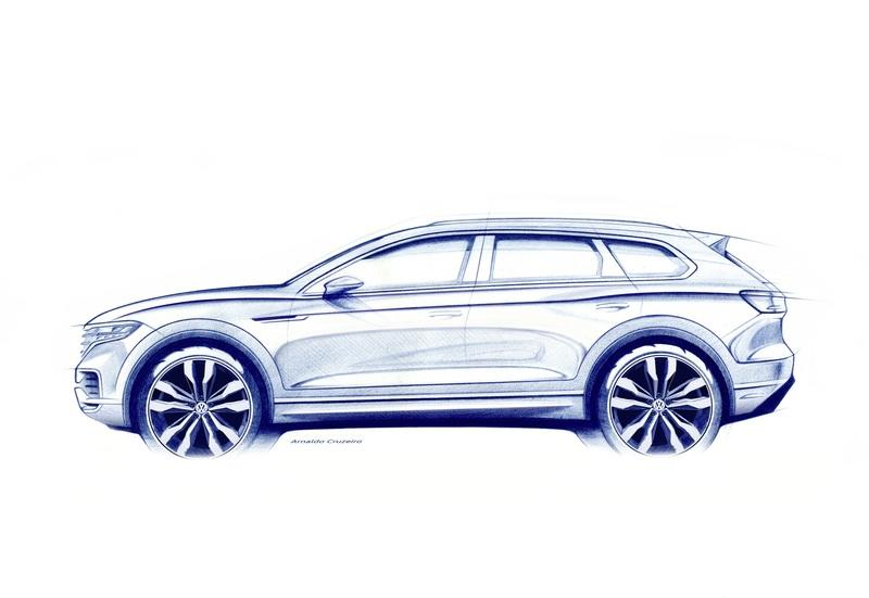 Volkswagen Teases New Touareg; Looks Like a Boxier Porsche Cayenne