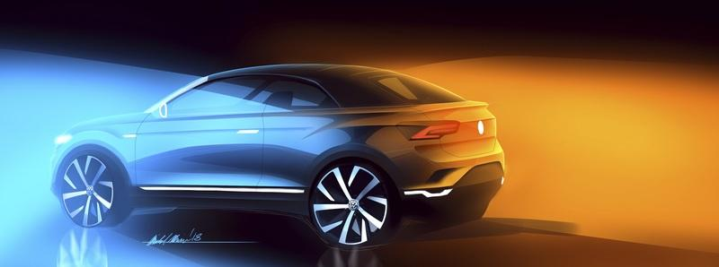 We Don't Know Why but Volkswagen Confirms Intent to Produce T-Roc Cabriolet in 2020